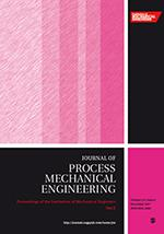 Proceedings of the Institution of Mechanical Engineers, Part E: Journal of Process Mechanical Engineering template ( Part E: Journal of Process Mechanical Engineering)