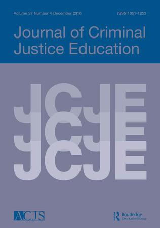 Journal of Criminal Justice Education template (Taylor and Francis)