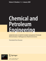 Chemical and Petroleum Engineering template (Springer)
