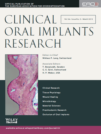 Clinical Oral Implants Research template (Wiley)