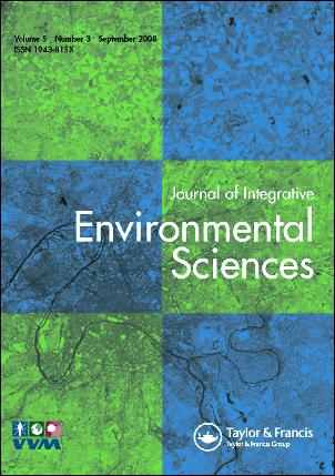 Journal of Integrative Environmental Sciences template (Taylor and Francis)