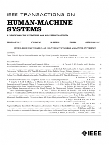 IEEE Transactions on Human-Machine Systems template (IEEE)
