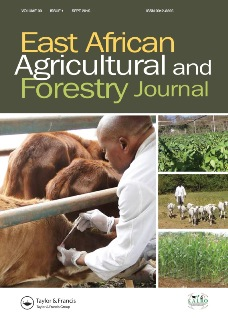 East African Agricultural and Forestry Journal template (Taylor and Francis)