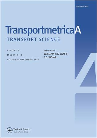 Transportmetrica A: Transport Science template (Taylor and Francis)