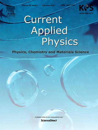 Current Applied Physics template (Elsevier)