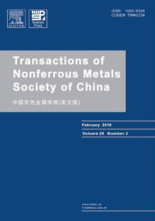 Transactions of Nonferrous Metals Society of China template (Elsevier)