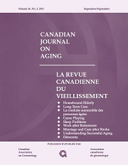 Canadian Journal on Aging / La Revue canadienne du vieillissement template (Cambridge University Press)