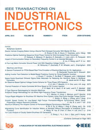 IEEE Transactions on Industrial Electronics template (IEEE)