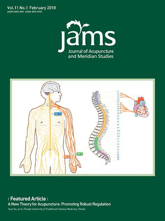 Journal of Acupuncture and Meridian Studies template (Elsevier)