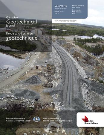 Canadian Geotechnical Journal template (NRC Research Press)