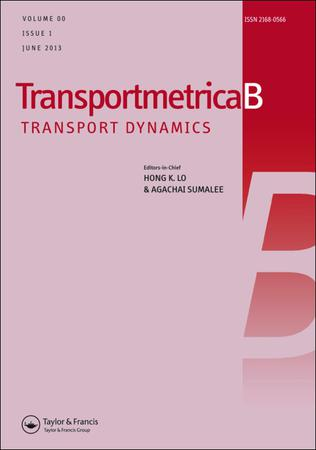 Transportmetrica B: Transport Dynamics template (Taylor and Francis)