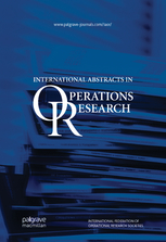 International Abstracts in Operations Research (IAOR Online) template (Palgrave Macmillan)