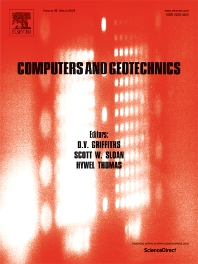 Computers and Geotechnics template (Elsevier)