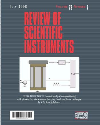 Review of Scientific Instruments template (American Institute of Physics)