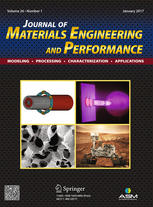 Journal of Materials Engineering and Performance template (Springer)