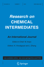 Research on Chemical Intermediates template (Springer)