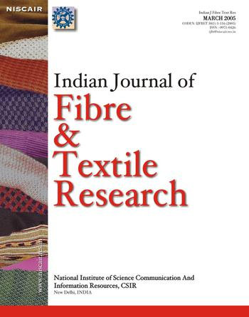 Indian Journal of Fibre & Textile Research (IJFTR) template (NISCAIR Publications)