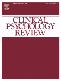 Clinical Psychology Review template (Elsevier)