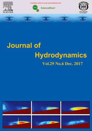 Journal of Hydrodynamics, Ser. B template ( Ser. B)