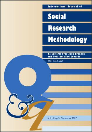 International Journal of Social Research Methodology template (Taylor and Francis)