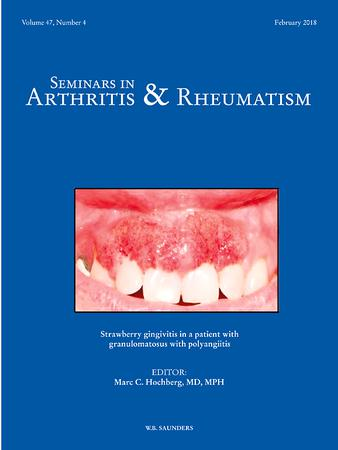 Seminars in Arthritis and Rheumatism template (Elsevier)