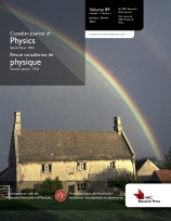 Canadian Journal of Physics template (NRC Research Press)