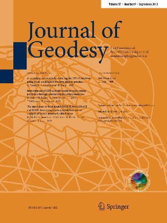 Journal of Geodesy template (Springer)