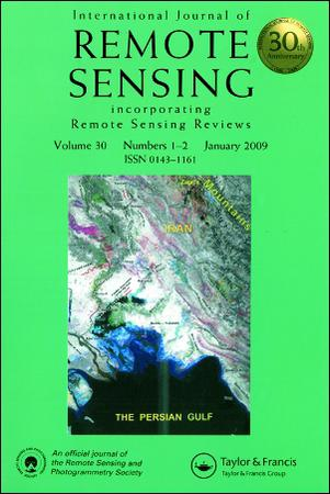 International Journal of Remote Sensing template (Taylor and Francis)
