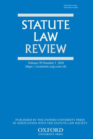 Statute Law Review template (Oxford University Press)