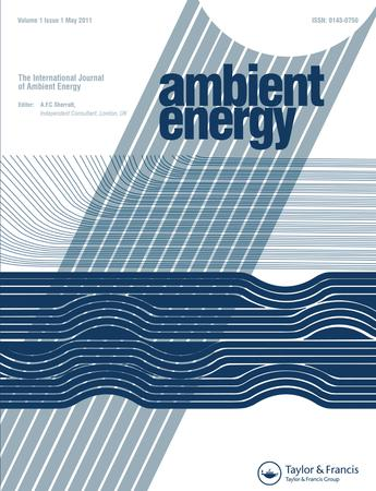 International Journal of Ambient Energy template (Taylor and Francis)