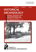 Historical Archaeology template (Springer)