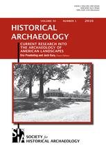 Historical Archaeology template (Springer)