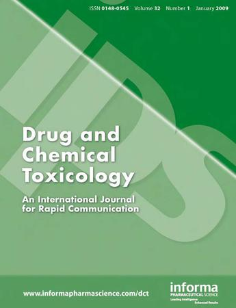 Drug and Chemical Toxicology template (Taylor and Francis)