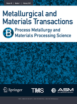Metallurgical and Materials Transactions B template (Springer)