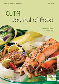 CyTA - Journal of Food template (Taylor and Francis)