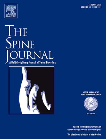 The Spine Journal template (Elsevier)