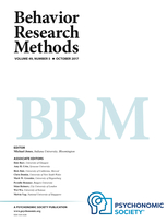 Behavior Research Methods template (Springer)