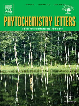 Phytochemistry Letters template (Elsevier)