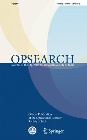OPSEARCH template (Springer)
