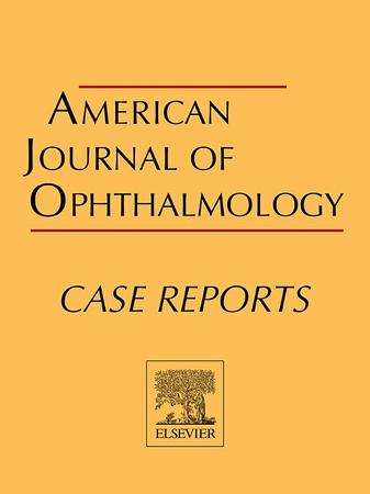 American Journal of Ophthalmology Case Reports template (Elsevier)