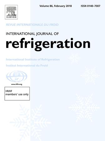International Journal of Refrigeration template (Elsevier)