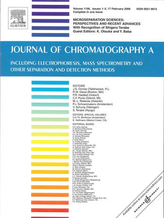 Journal of Chromatography A template (Elsevier)