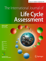The International Journal of Life Cycle Assessment template (Springer)