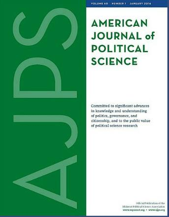 American Journal of Political Science template (Wiley)