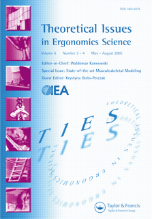 Theoretical Issues in Ergonomics Science template (Taylor and Francis)