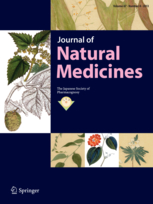 Journal of Natural Medicines template (Springer)