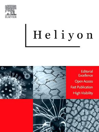 Heliyon template (Elsevier)