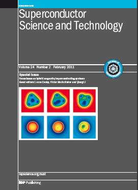 Superconductor Science and Technology template (IOP Publishing)