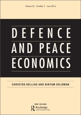 Defence and Peace Economics template (Taylor and Francis)