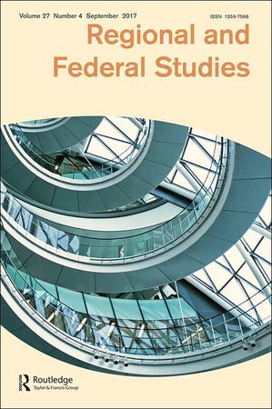 Regional and Federal Studies template (Taylor and Francis)